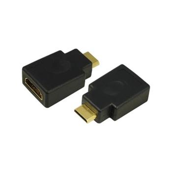 LOGILINK Adapter HDMI typ A zenski Mini HDMI typ C meski