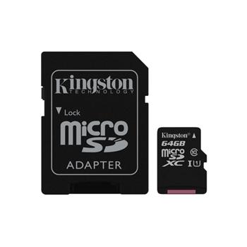 KINGSTON 64GB MICROSDXC CANVAS