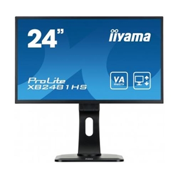 IIYAMA XB2481HS-B1 C Monitor Iiyama XB2481HS-B1 C, IPS, Full HD, DVI-D, HDMI, speakers