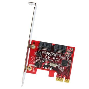 StarTech.com Scheda controller PCI Express SATA con 2 porte SATA 6 Gbps