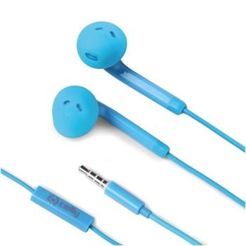 Celly FUN35LB cuffia e auricolare Blu