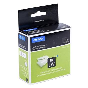 DYMO LW - Etichetta con indirizzo di ritorno grande - 36 x 89 mm - S0722520
