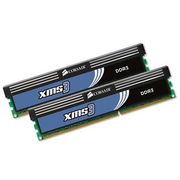 memory D3 1333 8GB C9 Corsair XMS K2 2x4GB XMS; SingleRank