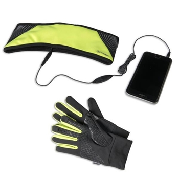 CELLY SPORT STEREO BAND GLOVES YL