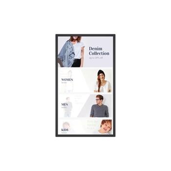 """Benq IL550 139,7 cm (55"""") LED Full HD Touch screen Pannello piatto per segnaletica digitale Nero"""