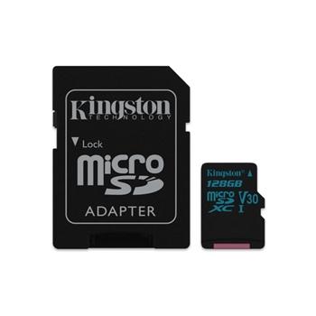 KINGSTON 128GB MICROSDXC CANVAS GO 90R/45W