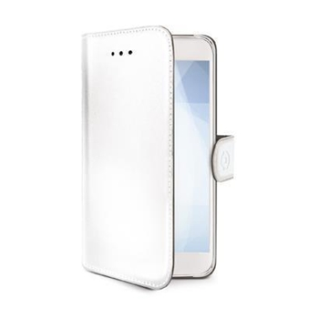 "Celly WALLY791WH custodia per cellulare 15,8 cm (6.2"") Custodia a borsellino Bianco"