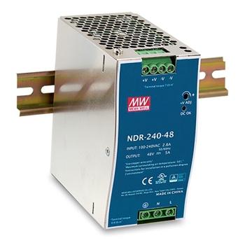 D-Link DIS-N240-48 alimentatore per computer 240 W Acciaio inossidabile