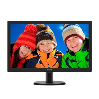 PHILIPS 243V5LHSB 23p TFT 1920x1080 16:9 1ms 250cd/m2 1000:1 VGA DVI HDMI TCO6 black