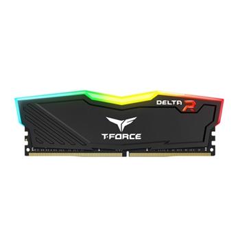 TEAMGROUP TF3D416G3000HC16CDC01 Delta RGB DDR4 16GB 2x8GB 3000MHz CL16 1.35V Black