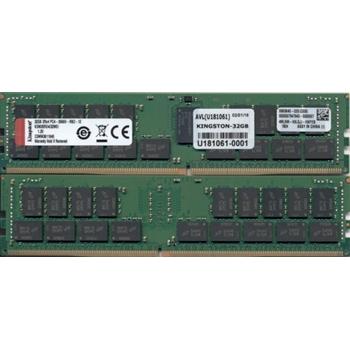 KINGSTON TECHNOLOGY 32GB DDR4-2666MHZ ECC REG CL19 DIMM 2RX4 MICRON E IDT