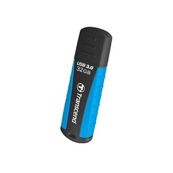 Transcend JetFlash 810 32GB USB 3.0 unità flash USB USB tipo A 3.0 (3.1 Gen 1) Nero, Blu