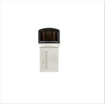 Transcend JetFlash 890 32GB unità flash USB USB Type-A / USB Type-C 3.0 (3.1 Gen 1) Nero, Grigio