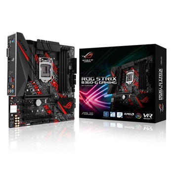 ASUS ROG STRIX B360-G GAMING scheda madre LGA 1151 (Presa H4) Micro ATX Intel® B360