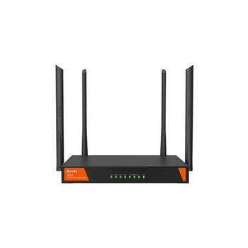 Tenda W15E router wireless Gigabit Ethernet Dual-band (2.4 GHz/5 GHz) Nero