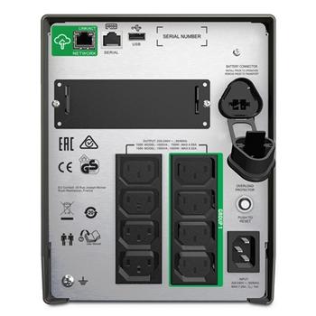 APC SMT1500IC gruppo di continuità (UPS) A linea interattiva 1500 VA 1000 W 8 presa(e) AC