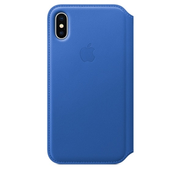 Apple MRGE2ZM custodia per cellulare Custodia a libro Blu
