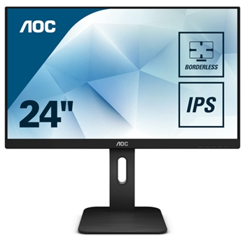 AOC X24P1 Monitor 24inch panel IPS 1920x1200 D-SUB/DVI/HDMI/DP speakers