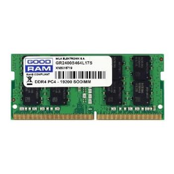 Goodram GR2400S464L17S/4G memoria 4 GB 1 x 4 GB DDR4 2400 MHz