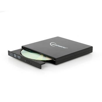 Gembird DVD-USB-02 lettore di disco ottico Nero DVD±RW