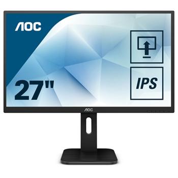 AOC 27P1 Monitor 27inch panel IPS D-Sub/HDMI/DVI/DP speakers