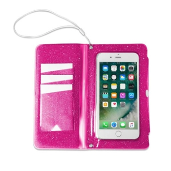 "Celly SPLASHWALL18PK custodia per cellulare 14,5 cm (5.7"") Custodia a borsellino Rosa"