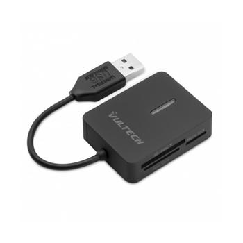 Vultech CRX-02USB2 lettore di schede Nero USB 2.0