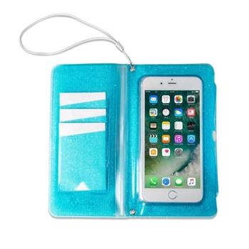 """Celly SPLASHWALL18LB custodia per cellulare 15,8 cm (6.2"""") Custodia a borsellino Blu"""