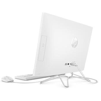 """HP 24 -f0002nl 60,5 cm (23.8"""") 1920 x 1080 Pixel Intel® Core™ i5 di ottava generazione i5-8250U 4 GB DDR4-SDRAM 1000 GB HDD Bianco PC All-in-one"""