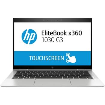 """HP EliteBook x360 1030 G3 Argento Ibrido (2 in 1) 33,8 cm (13.3"""") 1920 x 1080 Pixel Touch screen Intel® Core™ i7 di ottava generazione i7-8550U 16 GB LPDDR3-SDRAM 512 GB SSD"""