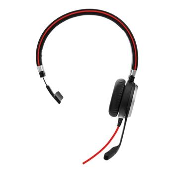 Jabra Evolve 40 MS Mono USB-C Cuffia Padiglione auricolare Nero