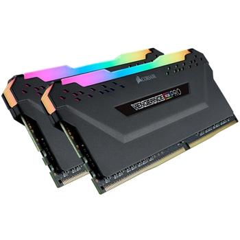 CORSAIR 16GB RAMKit 2x8GB DDR4 2666MHz 2x288Dimm Unbuffered 16-18-18-35 Vengeance RGB Pro Black Heat Spreader RGB LED 1.35V XMP2.0