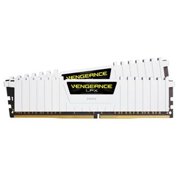 CORSAIR 16GB RAMKit 2x8GB DDR4 3000MHz 2x288 Dimm 15-17-17-35 Vengeance LPX White Heat spreader 1.35V XMP 2.0