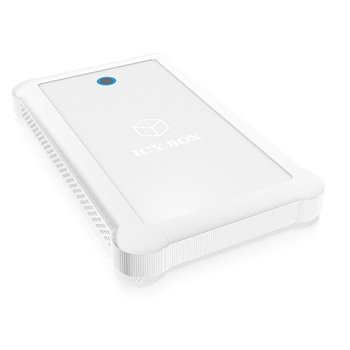 "ICY BOX IB-233U3-Wh 2.5"" Enclosure HDD/SSD Bianco"
