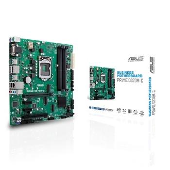 ASUS PRIME Q370M-C ASUS PRIME Q370M-C, LGA1151 4xDDR4 2666, 2x DP. HDMI, DVI-D, D-Sub, USB-A 3.1