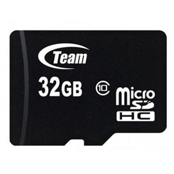 TEAM GROUP memory card Micro SDHC 32GB Class 10 + Adapter