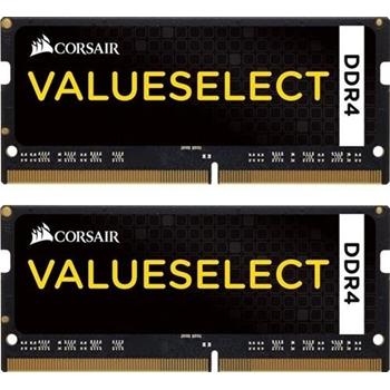 CORSAIR 16GB RAMKit 2x8GB DDR4 2133MHz 2x260 SoDimm Unbuffered 15-15-15-36 1.2V