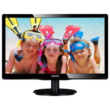 "MONITOR PHILIPS 19,5"" LED 1600 900 MM DVI VGA"