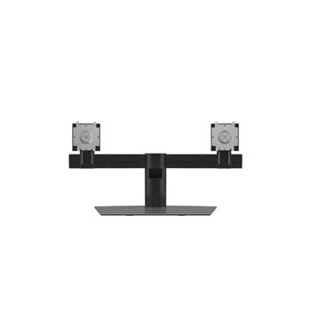 """DELL Dual Monitor Stand 68,6 cm (27"""") Alluminio, Nero"""