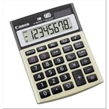 Canon LS-80TEG calcolatrice Scrivania Calcolatrice finanziaria Oro, Grigio