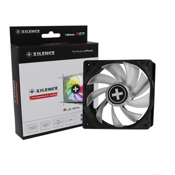 Xilence XPF120RGB Computer case Ventilatore 12 cm Nero