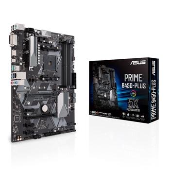 ASUS PRIME B450-PLUS ASUS PRIME B450-PLUS, AM4, B450, USB3.1, M.2, SATA 6GB/S