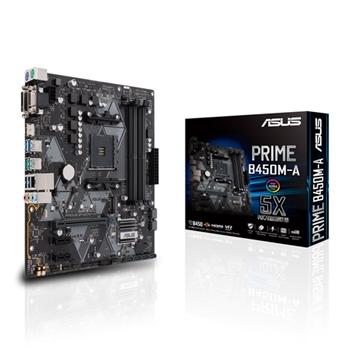 ASUS PRIME B450M-A scheda madre Presa AM4 Micro ATX AMD B450