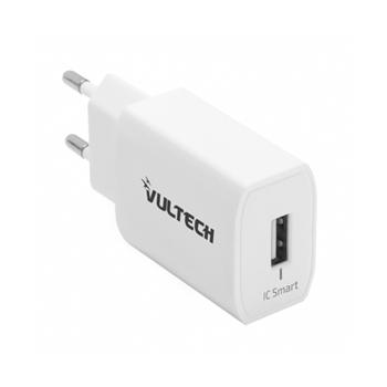 Vultech CC-112WH adattatore e invertitore Interno 12 W Bianco