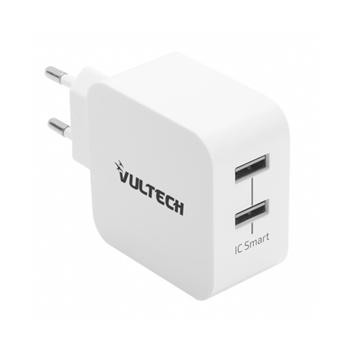 Vultech CC-224WH adattatore e invertitore Interno 24 W Bianco