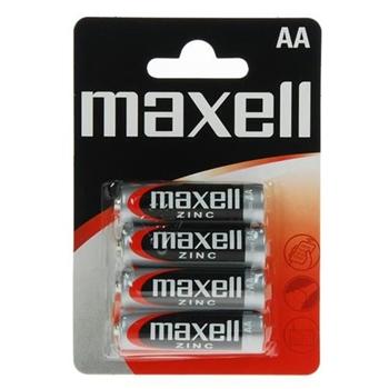 Maxell 4 x AA Single-use battery Zinco-Carbonio