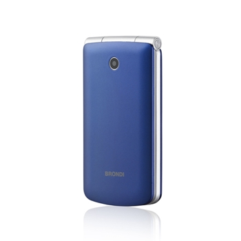 "Brondi Magnum 3 7,62 cm (3"") Blu, Viola Telefono con fotocamera"