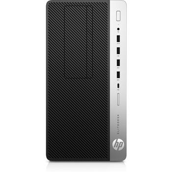 HP EliteDesk 705 G4 AMD Ryzen 5 2400G 8 GB DDR4-SDRAM 256 GB SSD Nero, Argento Microtorre PC