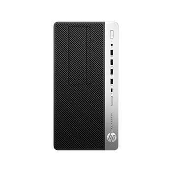 HP EliteDesk 705 G4 AMD Ryzen 7 2700 8 GB DDR4-SDRAM 256 GB SSD Nero, Argento Microtorre PC