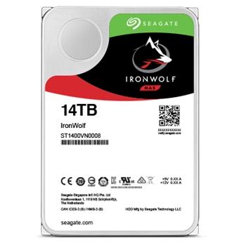 HDD Seagate IronWolf Pro NAS ST14000NE0008 14TB Sata III 256MB (D)